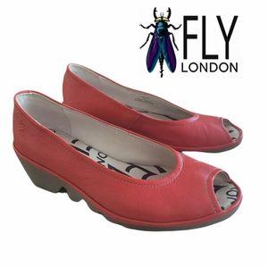 Fly London Wege Leather Shoes